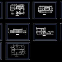 4790平米3层九班幼儿园建筑方案图