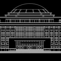 浙江工业大学图书馆建筑设计方案图