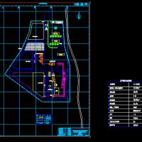 年产60万方混凝土搅拌站总平面图