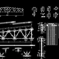 某21米梯形钢屋架课程设计(含计算书及图纸)