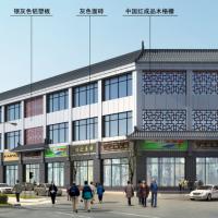 银川2475平米3层框架结构商业办公楼建结水电暖全套图