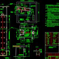 标准电梯井道施工图(中山电梯)
