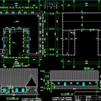山东单层砌体结构海草房结构施工图(含建施)茅草屋