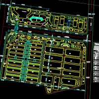 某地区汽配城物流产业园规划设计方案图