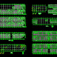 某6层框架住宅楼结构施工图