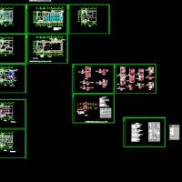 洁净厂房电气施工图