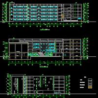 昆明4335平米宿舍楼施工图预算编制全套毕业设计(图纸 说明书 翻译 广联达模型 结构隔减震)