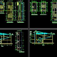 两层地下室自行车坡道设计详图