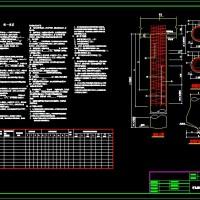 冲孔成孔灌注桩设计说明及通用CAD图