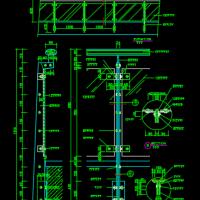 玻璃栏杆结构详图