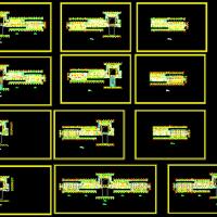多层酒店建筑设计施工平面图