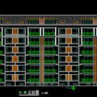 江苏4039平米六层砖混结构住宅楼建筑及结构全套施工图(电子计算书,安置楼)