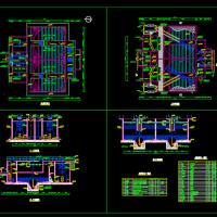 污水厂高密度澄清池工艺施工图(3万t/d)