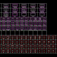 最新收集的开关插座CAD图例图块(非常全面)