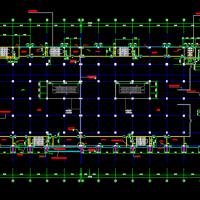 大型商场建筑设计全套CAD图纸和3DMAX模型