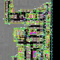 某商业中心人防地下室建筑及结构全套施工图纸