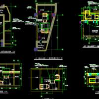 某商业中心人防地下室配套施工图纸(水暖电)