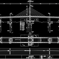 某斜拉桥全套图纸(含设计说明)