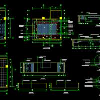 某会议室装修设计CAD图纸