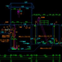 8000立方污水泵站设计图纸