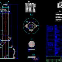 填料吸收塔总装图