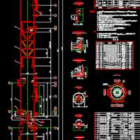 尾气吸收塔CAD设计图