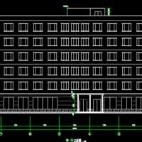 南昌5089平米6层框架宾馆建筑结构全套毕设图(开题报告 计算书 PPT)