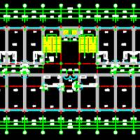 沈阳5800平米5层钢框架宾馆全套设计(含计算书、建筑图 结构图)