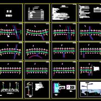 新七大道太阳能路灯设计图纸(包含灯杆及路灯基础)