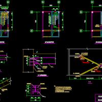 地下室顶板开洞新增钢楼梯设计图