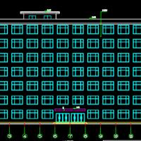 湖北6062平米7层框架结构教学楼建筑及结构全套毕设计图(优质资料)