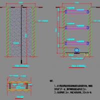 拉森钢板桩支护设计示意图