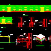 18m跨双坡门式刚架厂房毕业设计(含计算书)