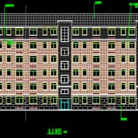 3169平米6层框架结构住宅楼毕业设计(建施结施 施工总平面 施组)