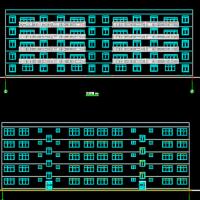 山东3285平米五层框架住宅楼毕业设计(计算书、建筑、结构图)