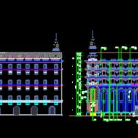 古德寺经堂建筑设计图纸
