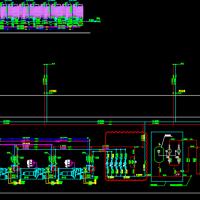新疆54000平米高层办公楼暖通空调设计施工图(73张)
