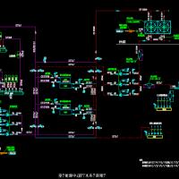上海21959平米五层办公大楼暖通空调施工图(水地源热泵)
