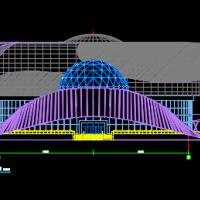 12570平米四层科技馆全套建筑施工图(含设计说明)