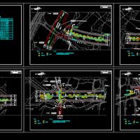 市政道路绿化喷灌施工图