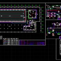游泳池循环水处理管道工程施工图纸