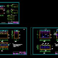 某工程UASB反应器设计CAD图纸