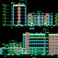5757平米6班幼儿园及社区配套用房建筑施工图
