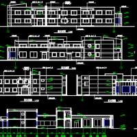 河北唐山1480平米两层六班幼儿园建筑设计图纸