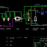 硝酸厂SCR法处理硝酸尾气课程设计图