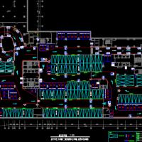 机械式立体车库建筑设计方案图纸(地下)