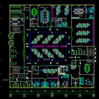 办公楼装修设计平面布置图