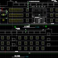 某地三层小型宾馆建筑设计图