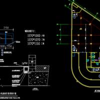 集水坑盖板设计详图(钢盖板)