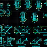 桩基基础设计详图(灌注桩、抗拔桩、承台、电梯井、集水坑)